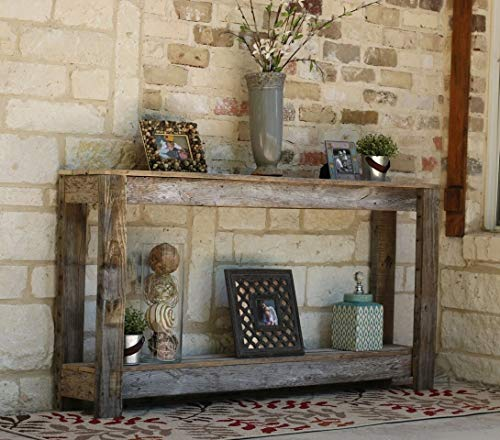 Amazon.com: Natural Unfinished 60 Inch Sofa Table: Handmade