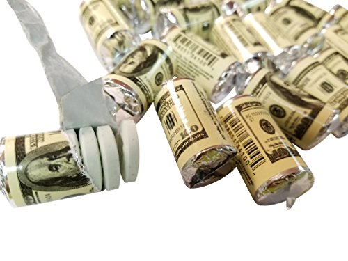 Spearmint Money Mint Rolls $100 U.S Dollar Bills 24 Count - Mint Candy Bars