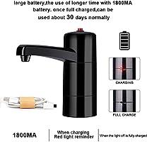 Yosoo Dispensador de la Bomba de Agua Handy Recargable dispensador eléctrico USB succión Dispositivo Universal de Suministro de Agua para la Botella de la Oficina en el hogar: Amazon.es: Hogar