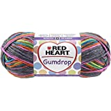 Coats Yarn Red Heart Gumdrop Yarn, Rock Candy