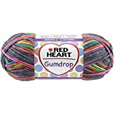 Red Heart Gumdrop Yarn, Rock Candy, Worsted (4) 204 yards