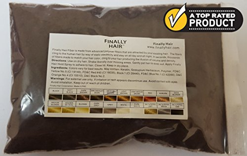 New Hair Building Fibers 100+14=114 Grams. Highest Grade Refill That You Can Use for Your Bottles From Competitors Like Toppik, Xfusion, Hairubuild (Medium Brown)
