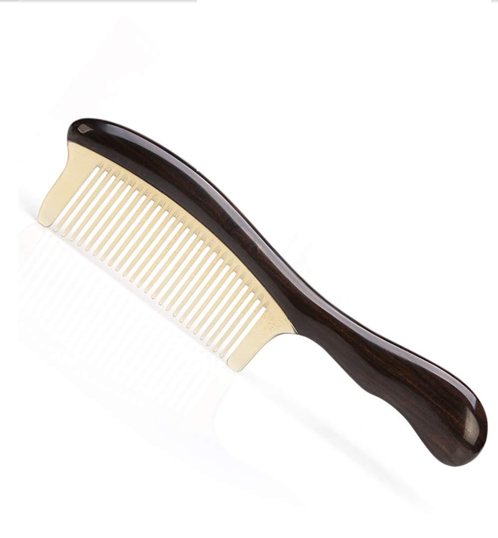 CAFUTY 大型高密度歯は、カードではないフケには、髪の櫛を傷つけないでください (Color : ベージュ) B07P6GY2XJ ベージュ