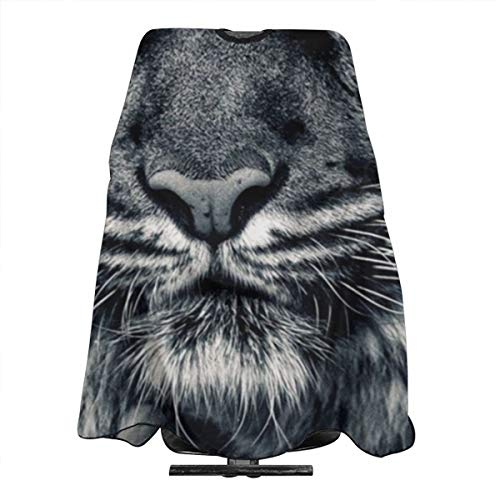 Tiger Camouflage Water and Stain Resistant Haircut Apron with Adjustable Snap Salon Cape ()