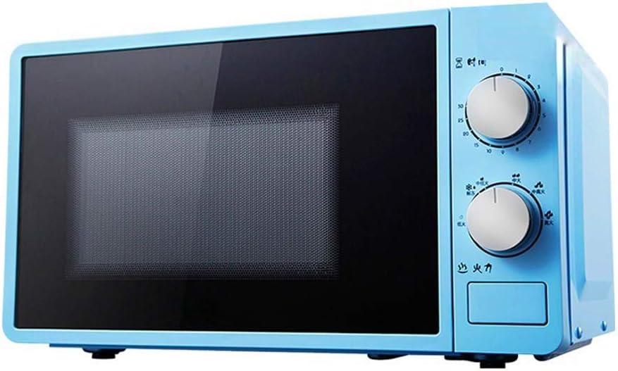 20L Pequeño multifuncional de microonda 220V mecánico giratorio de la Alimentación del calentador de cocina Olla para cocinar al vapor/Calefacción/ebullición,Azul