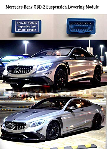 Mercedes Benz OBD-2 Suspension Lowering Module, Air Suspension Control System, AirMatic -