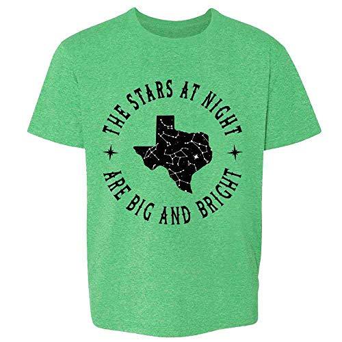 Texas Stars at Night are Big and Bright Song Heather Irish Green 3T Toddler Kids Girl Boy T-Shirt