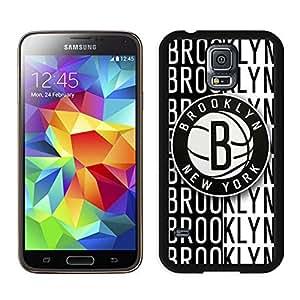 New Custom Design Cover Case For Samsung Galaxy S5 I9600 G900a G900v G900p G900t G900w brooklyn nets 2 Black Phone Case