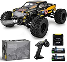 BEZGAR 1 Hobbyist Grade 1:12 Scale Remote Control Truck, 4WD High Speed 42 Km/h All Terrains Electric Toy Off Road RC...