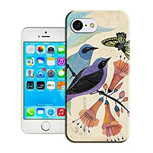 DIY ARTICLE?186.Butterfly And Birds (1)Custom Unique Plastic Case Creative Art Pattern Cell Phone Case For Iphone5C