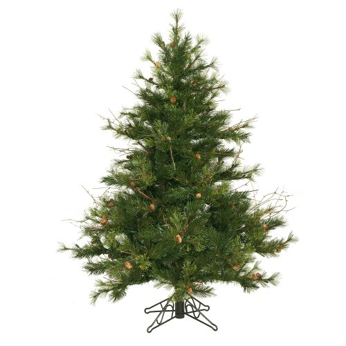 (Vickerman 45' Unlit Mixed Country Pine Artificial Christmas Tree )