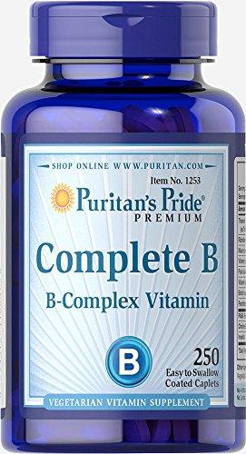 Puritan's Pride Complete B (Vitamin B Complex)-250 (B-complete Vitamins)