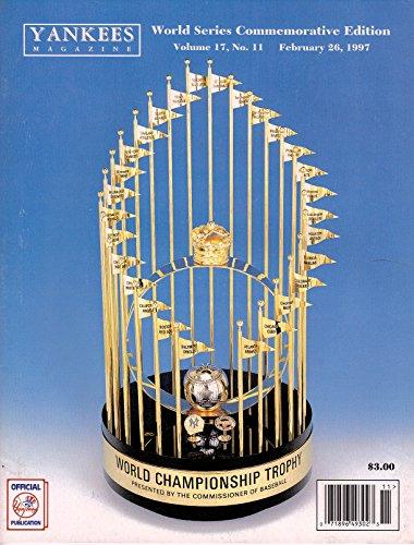 Yankees Magazine, Volume 17, No. 11, February 1997 - World Series Commemmorative - Baseball Tim Wood