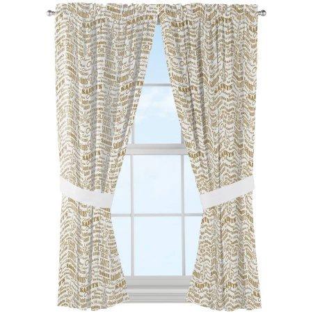 NFL New Orleans Saints QuotAnthemquot Window Curtain Panel