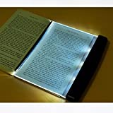 SaveStore Creative Fashion LED Night Light Book Light Portable Reading Lamp Novelty Wireless Eye Protection Battery Lamp lampara para leer