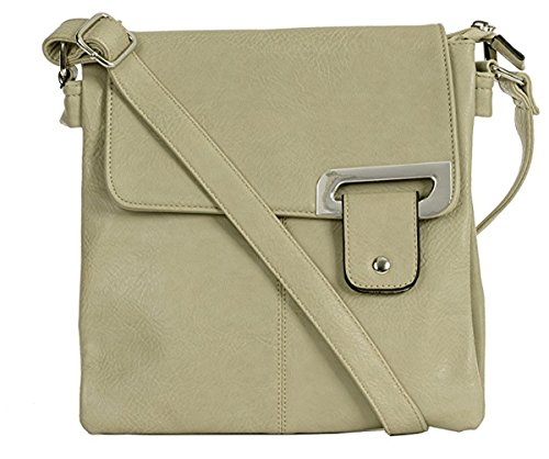 Pour Craze Trim Sac Porter L'épaule Beige Light Silver À Femme London EqqrpCf
