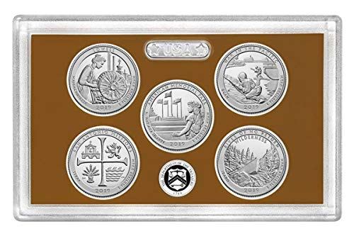 2019 S Clad Proof State Quarter Set No Box or CoA Proof, used for sale  Delivered anywhere in USA