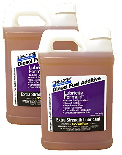 Stanadyne Lubricity Formula 2 Pack of 1/2 Gallon (64oz) Jugs | Each Jug Treats 500 Gallons of Diesel Fuel | Part # 38561 by Stanadyne