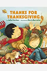 Thanks for Thanksgiving Board Book Board book