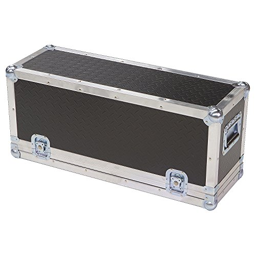 Head Amplifier 1/4 Ply ATA Light Duty Case with Diamond Plate Laminate Fits SWR Workingman's 4004 Bass ()