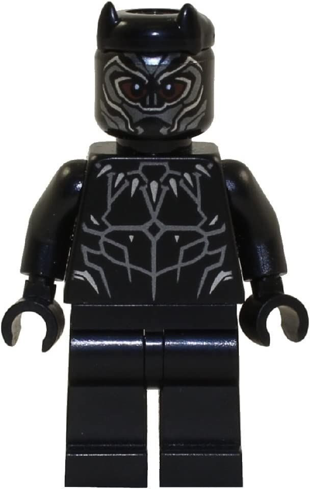 LEGO Marvel Super Heroes Black Panther Minifigure - Black Panther Classic Suit (76103)