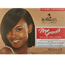 Dr Miracle's New Growth Thermaceutical Intensive No-Lye Relaxer Kit Regular