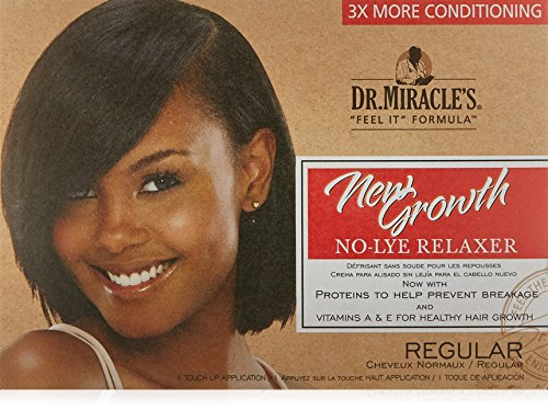 (Dr. Miracle's New Growth Thermaceutical Intensive No-lye Relaxer Regular Kit )