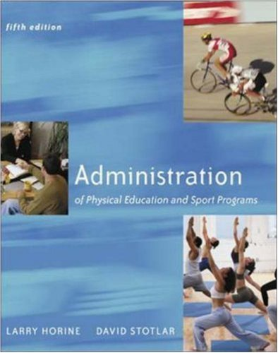 Admin.Of Physical Educ.+Sport Programs
