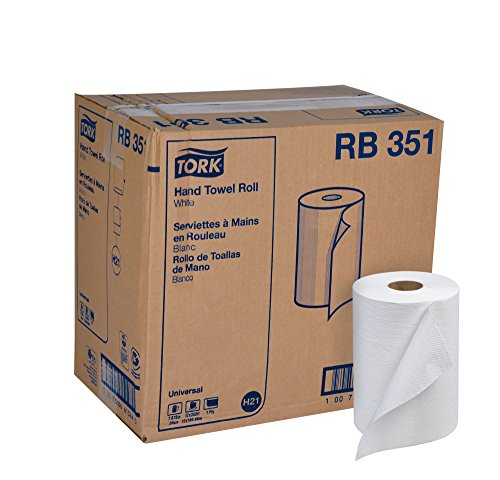 Hardwound Towel (Tork Universal RB351 Hardwound Paper Roll Towel, 1-Ply, 7.87