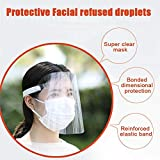 5 Pack Face Shield Protect Eyes and Face with