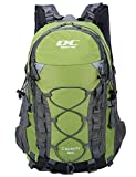 Diamond Candy Hiking Backpack 40L Waterproof Outdoor Lightweight Travel Backpacks for Men and Women with Rain Cover, Bag for Mountaineering Camping Climbing Cycling Fishing (Green)