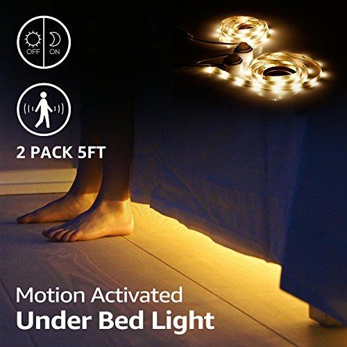 Bedroom Under Bed Led Light Kit - 2