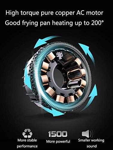 OFAY Freidora de Aire Saludable, tecnología de circulación de Aire rápida, Programa Inteligente con Temporizador automático y Manual y Control de Temperatura 1500 W, 4L