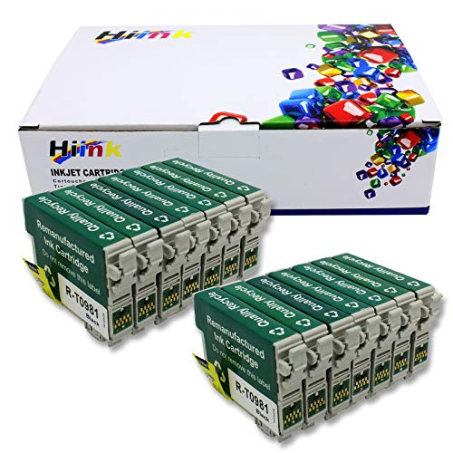 HIINK Remanufactured Ink Cartridge Replacement For Epson T098 99 Ink Cartridges(14-Pack)