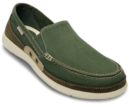 aa970925924e Crocs Mens Walu Accent Slip On Loafer Shoes