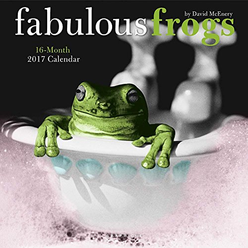 Fabulous Frogs 2017 Wall Calendar