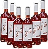 Vino Joven Almodí Petit Rosado – D.O. Terra Alta – Pack vino 6 botellas – Selección Vins&Co – 750 ml