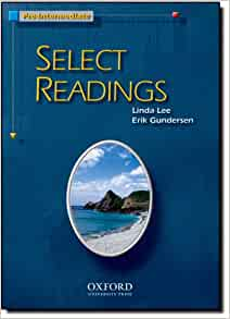 Select Readings: Student Book Pre