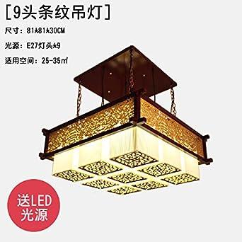 Moderne Neue Chinesische Kronleuchter Esszimmer Wohnzimmer Lampen Antik  Solide Holz Ideen Klassische Teehäuser Tee Zimmer Deckenleuchten