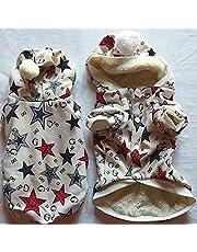 Dog Jumper Coats Winter Small Dog Pet Cat Puppy Sweaters 30 cm / 12#