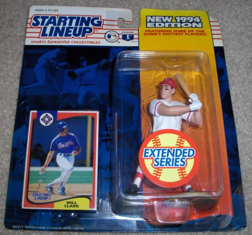 1994 Will Clark MLB Extended Series Starting Lineup