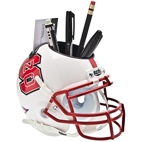 NCAA North Carolina State Wolfpack Mini Helmet Desk Caddy (State Desk Wolfpack)