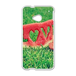 Watermelon HTC One M7 Cell Phone Case White Phone cover Q3269894