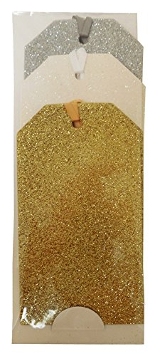 The Gift Wrap Company 6-Count Luxe Gift Tags, Seasonal Shimmer