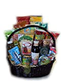 Super Deluxe Athlete Healthy Gift Basket by Well Baskets
