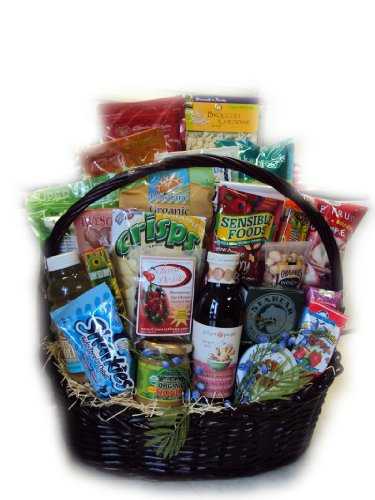 Super Deluxe Athlete Healthy Gift Basket by Well Baskets by Well Baskets