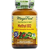 Cheap MegaFood – Methyl B12, Helps Maintain Healthy Homocysteine Levels and Supports Heart, Brain, and Nerve Tissue Health with Methylated B Vitamins, Vegan, Gluten-Free, Non-GMO, 90 Tablets