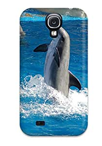 ZippyDoritEduard Scratch-free Phone Case For Galaxy S4- Retail Packaging - Dolphin Animal Dolphin