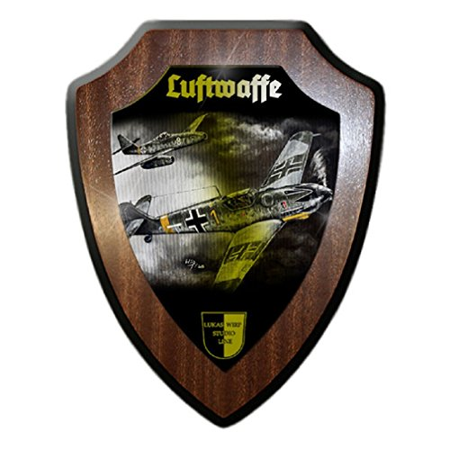 Lukas Wirp Air Force Me109 Me262 Fighter Squadron Jet Season Art - Escutcheon / Wall Sign