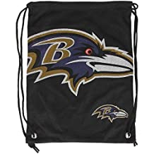 NFL Baltimore Ravens 2015 Jersey Drawstring Backpack, Black